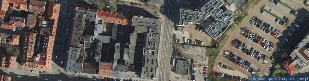 Zdjęcie satelitarne Garbary ul.