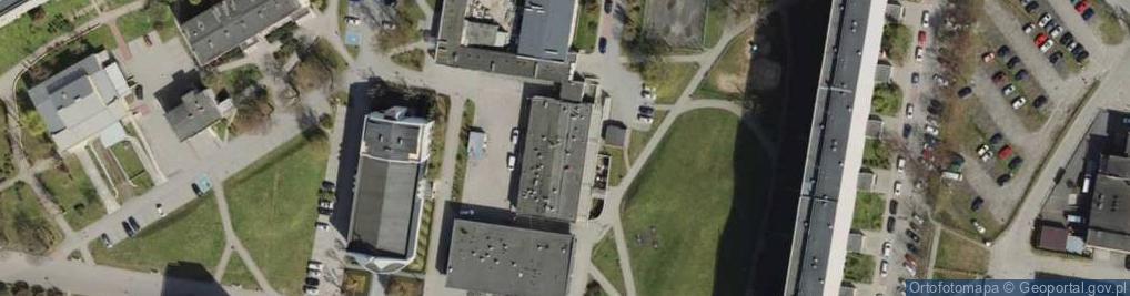 Zdjęcie satelitarne Gdyńska 4