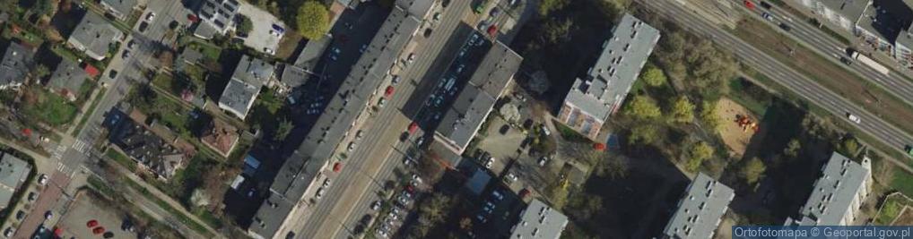 Zdjęcie satelitarne Głogowska 125