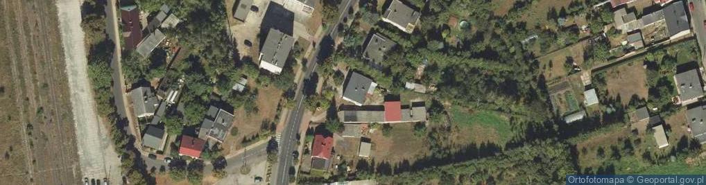 Zdjęcie satelitarne Gnieźnieńska ul.