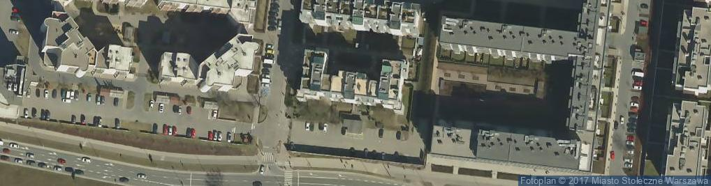 Zdjęcie satelitarne Górczewska ul.