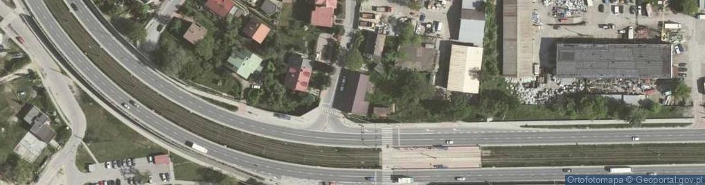 Zdjęcie satelitarne Gromadzka 38