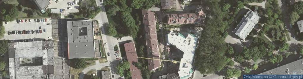 Zdjęcie satelitarne Grzegórzecka 72
