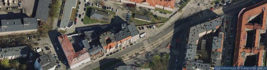 Zdjęcie satelitarne Grunwaldzka 11