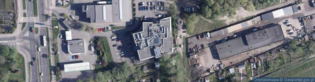 Zdjęcie satelitarne Grudziądzka 110