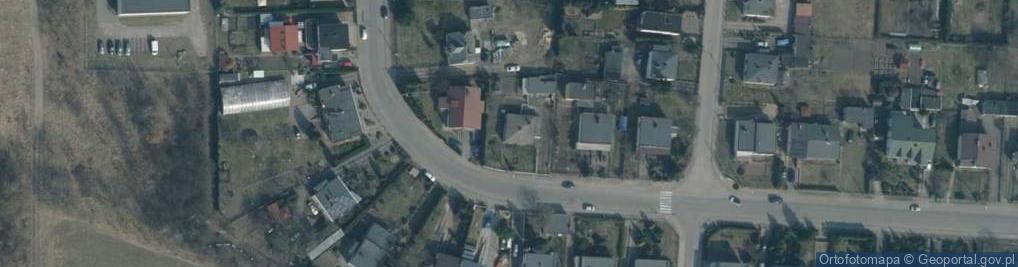 Zdjęcie satelitarne Gwardii Ludowej 18