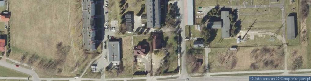Zdjęcie satelitarne Hrubieszowska 69A