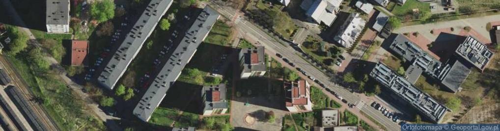 Zdjęcie satelitarne Jagiellońska 7B
