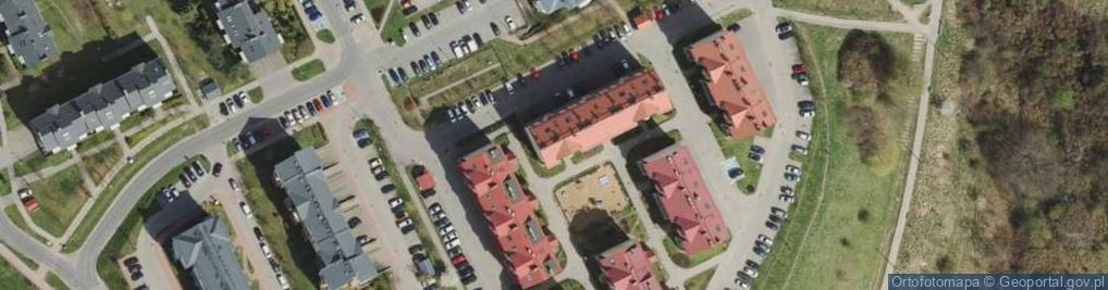 Zdjęcie satelitarne Jeleniogórska 13