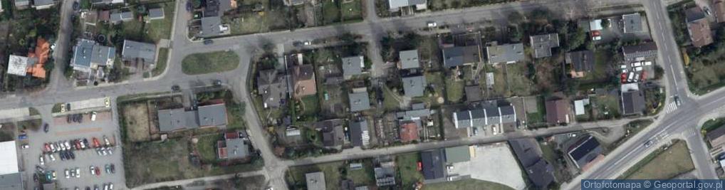Zdjęcie satelitarne Jodłowa 17
