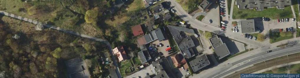 Zdjęcie satelitarne Kartuska 195A