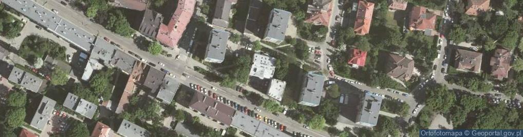 Zdjęcie satelitarne Kazimierza Wielkiego ul.