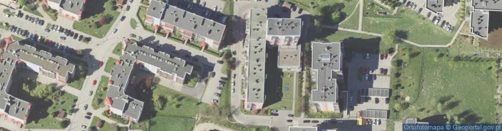Zdjęcie satelitarne Kaskadowa 11