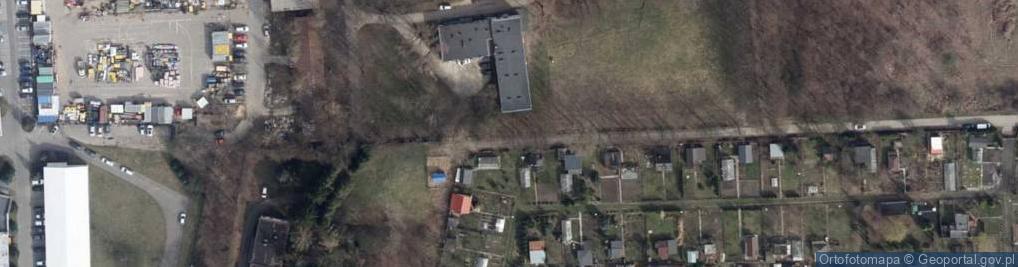 Zdjęcie satelitarne Kasztanowa 31
