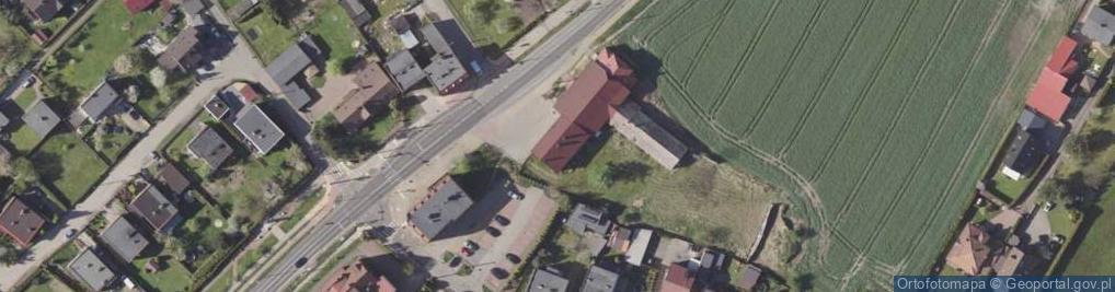 Zdjęcie satelitarne Katowicka 110