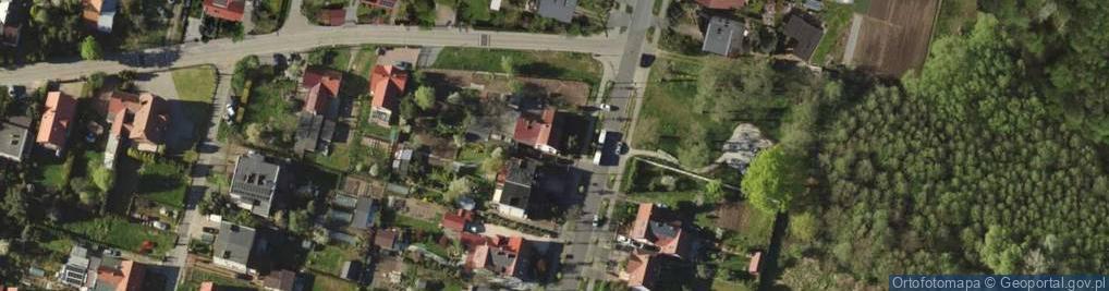 Zdjęcie satelitarne Kamiennogórska ul.