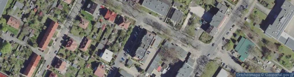 Zdjęcie satelitarne Kasprzaka Marcina ul.