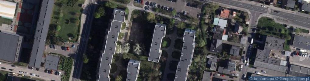 Zdjęcie satelitarne Kołobrzeska 18