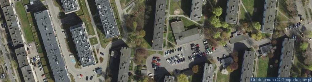 Zdjęcie satelitarne Kołobrzeska 25A