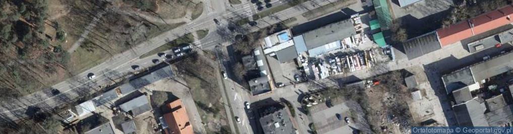 Zdjęcie satelitarne Kosynierów Gdyńskich 50
