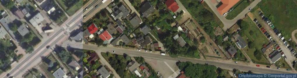 Zdjęcie satelitarne Komornicka ul.