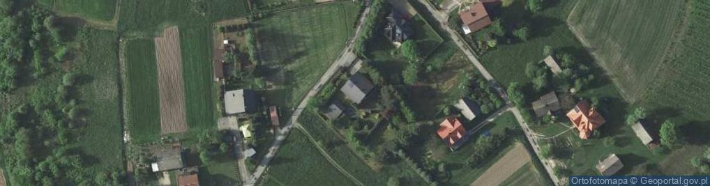 Zdjęcie satelitarne Koźmice Wielkie ul.
