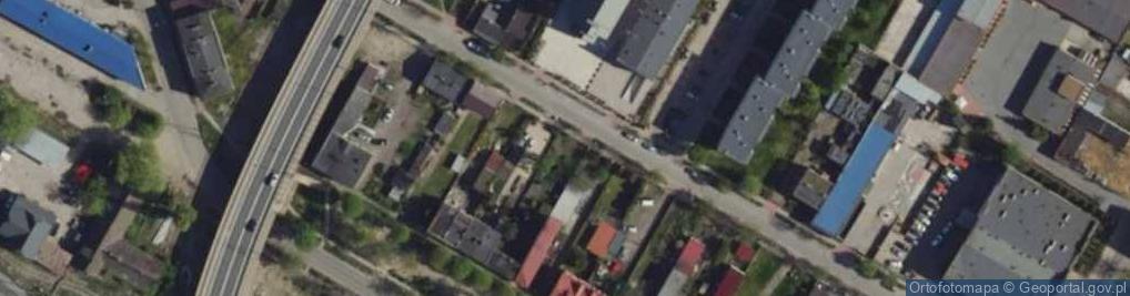 Zdjęcie satelitarne Kochanowskiego Jana ul.