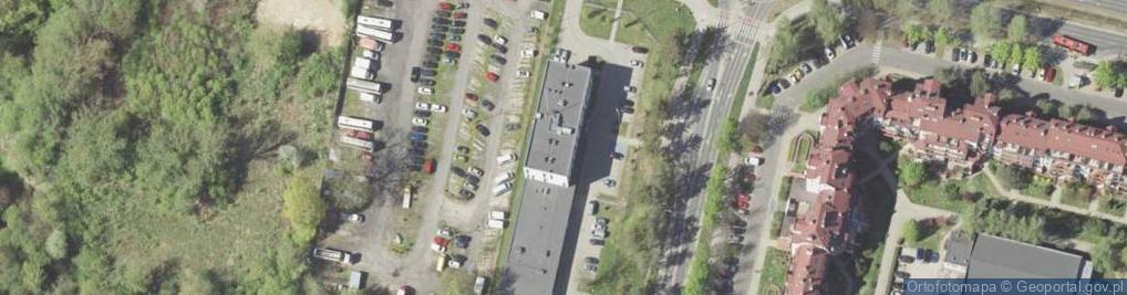 Zdjęcie satelitarne Koncertowa 4