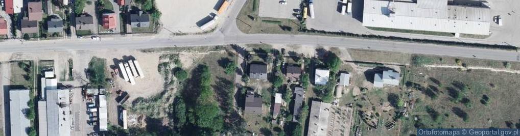 Zdjęcie satelitarne Kościuszki Tadeusza, gen. 90