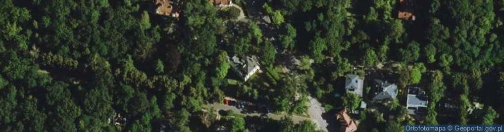 Zdjęcie satelitarne Kościuszki Tadeusza, gen. 45