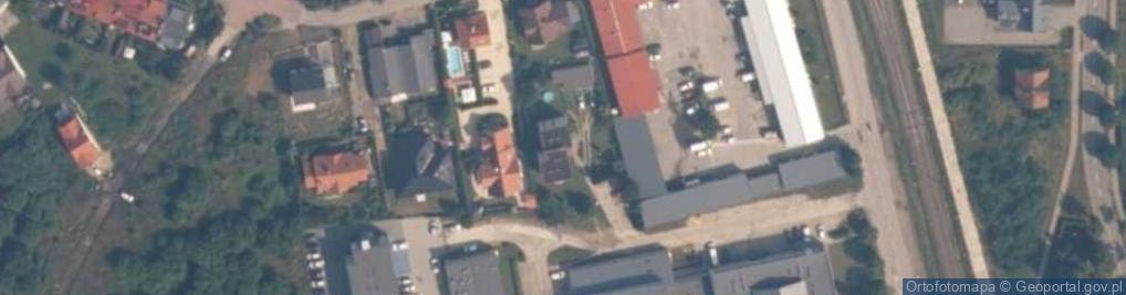 Zdjęcie satelitarne Kolejowa 7