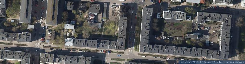Zdjęcie satelitarne Kobielska 62