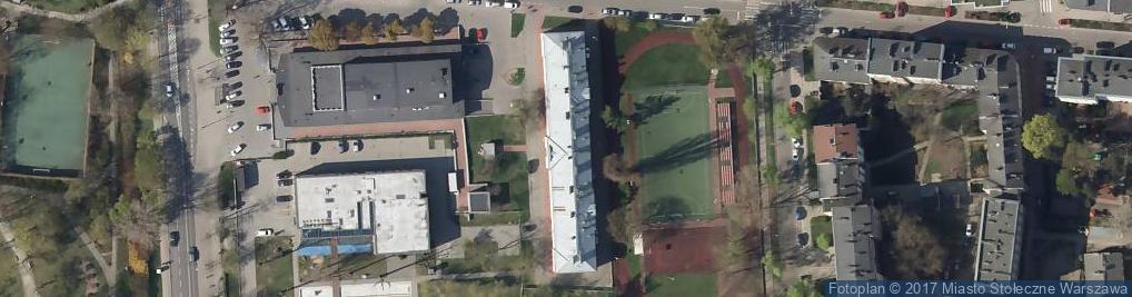 Zdjęcie satelitarne Kobielska 91