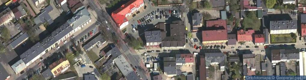 Zdjęcie satelitarne Kościelna 1