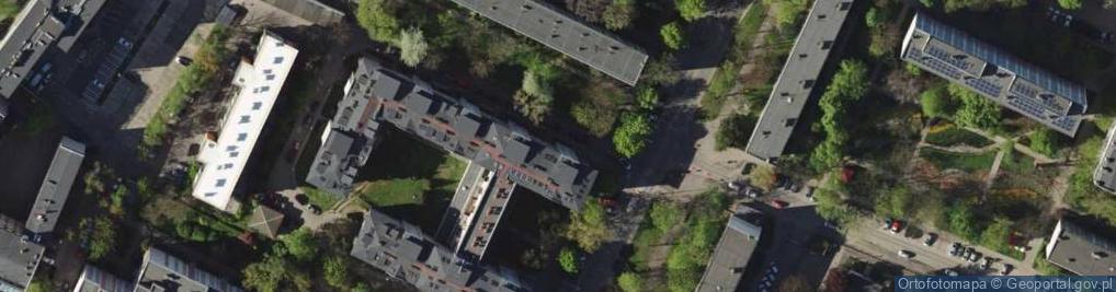 Zdjęcie satelitarne Komandorska 53L