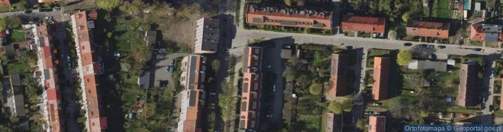Zdjęcie satelitarne Króla Bolesława Chrobrego 71