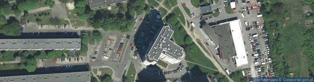 Zdjęcie satelitarne Krowoderskich Zuchów 16