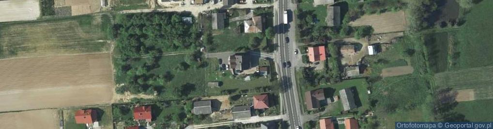 Zdjęcie satelitarne Krakowska 299