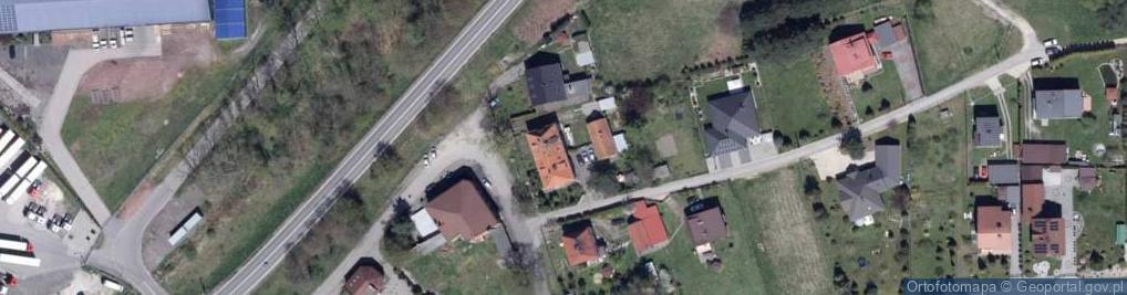 Zdjęcie satelitarne Krywałdzka ul.