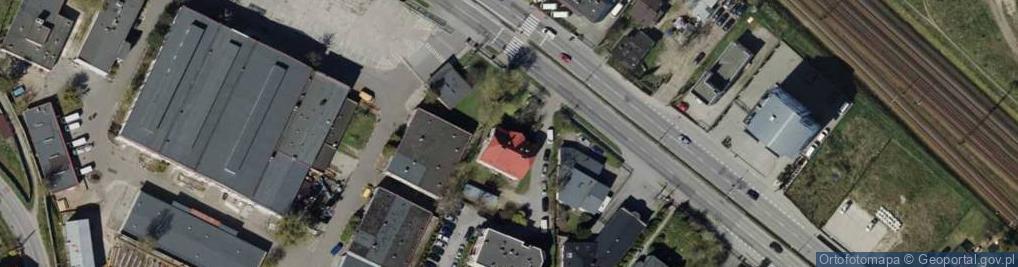 Zdjęcie satelitarne Króla Jana III Sobieskiego 44