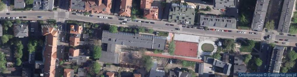 Zdjęcie satelitarne Krasińskiego Zygmunta 45