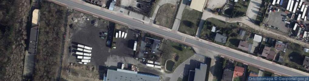 Zdjęcie satelitarne Ksawerowska ul.