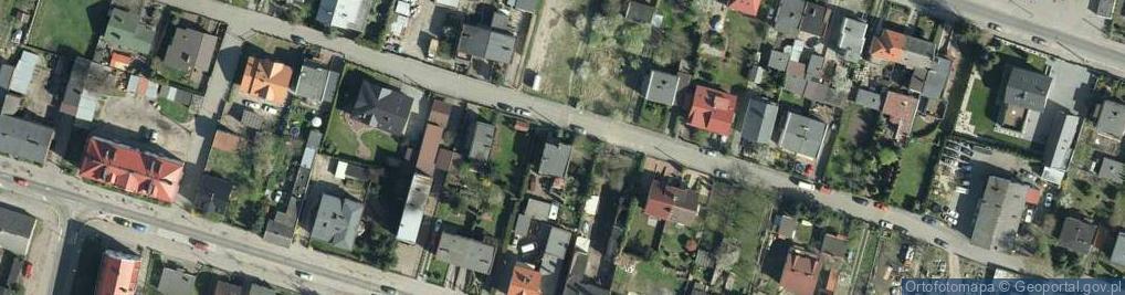 Zdjęcie satelitarne Kwiatowa 22