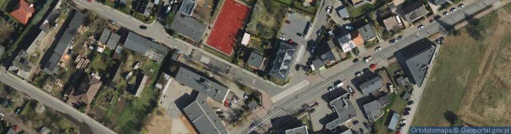 Zdjęcie satelitarne Ławica 4