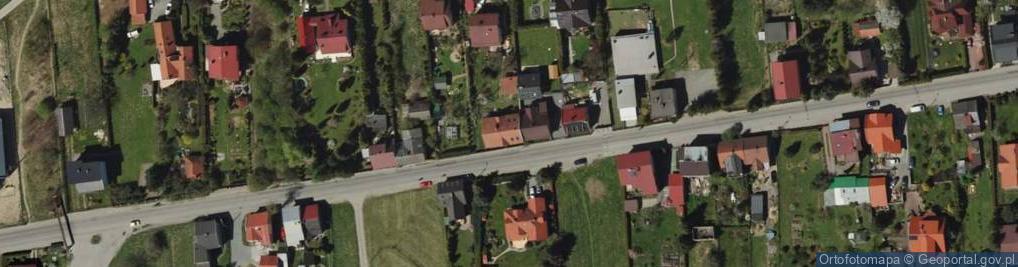Zdjęcie satelitarne Leśnianka 40