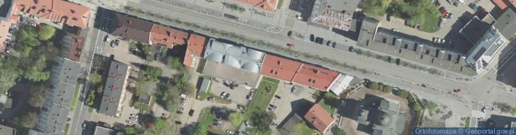 Zdjęcie satelitarne Lipowa 19/21