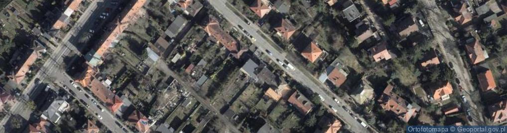 Zdjęcie satelitarne Lindego Samuela Bogumiła ul.
