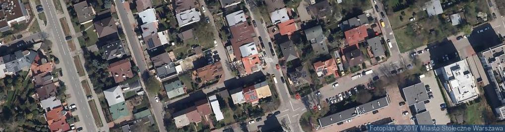 Zdjęcie satelitarne Łomiańska 5A