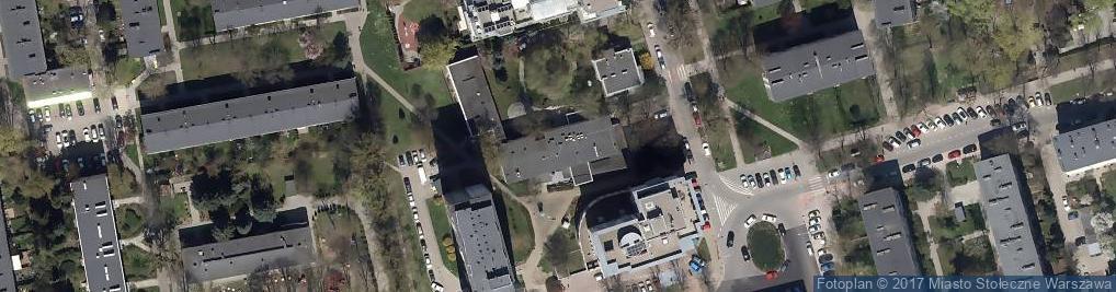 Zdjęcie satelitarne Łowicka 21