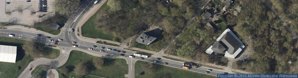 Zdjęcie satelitarne Ludwicka ul.